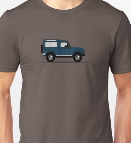A Graphical Interpretation of the Defender 90 Station Wagon 50th Anniversary Unisex T-Shirt