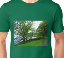 An Evening Walk - Lews Castle Grounds Unisex T-Shirt