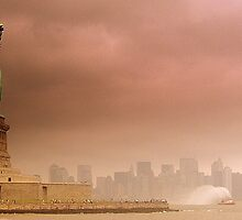 manhattan storm by jclem211