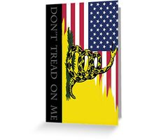 American Gadsden  Greeting Card