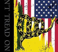 American Gadsden Flag Worn by misterspotswood