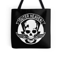 Outer Haven Logo White Tote Bag