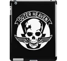 Outer Haven Logo White iPad Case/Skin