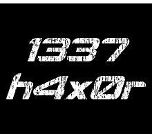 Leet Haxor 1337 Computer Hacker Photographic Print