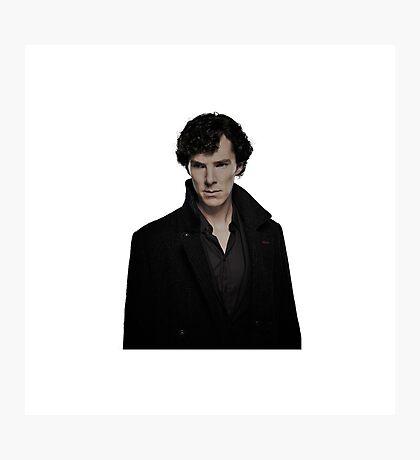 Sherlock Holmes/Benedict Cumberbatch Photographic Print