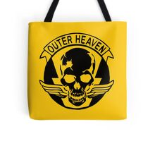 Outer Haven Logo Black Tote Bag