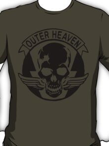 Outer Haven Logo Black T-Shirt
