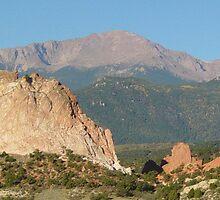 Pikes Peak by Holly Werner