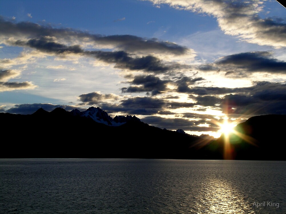 Lynn Canal Sunset by April King
