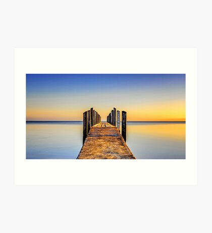 Quindalup Jetty Art Print