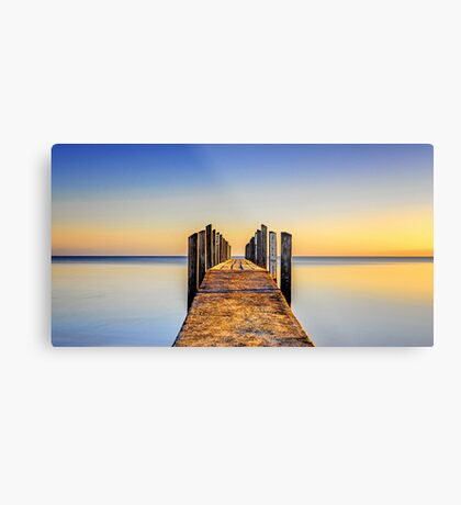 Quindalup Jetty Metal Print