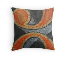 cracked numbers Throw Pillow