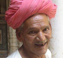 Pink Turban by brenda sharpe