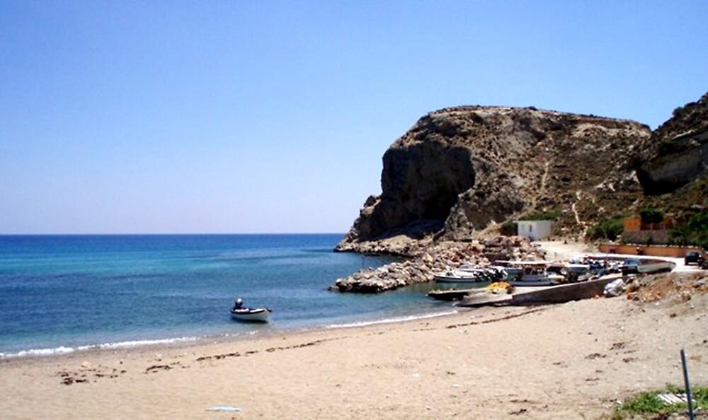 Stegna Beach in Rodos, Greece by Billy Andonaras