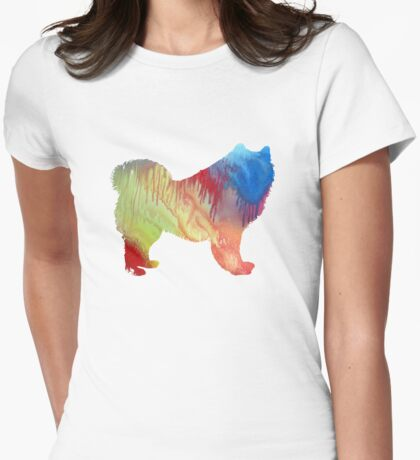 Samoyed  Womens Fitted T-Shirt