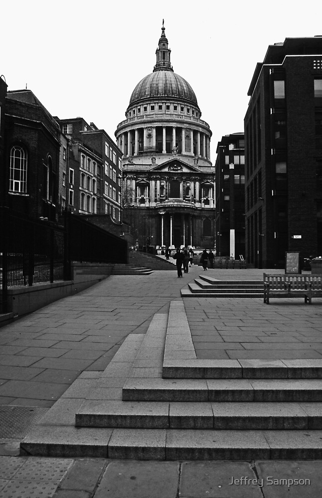 St. Pauls Cathedral by Jeffrey Sampson