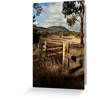 Mt Buangor State Park Greeting Card