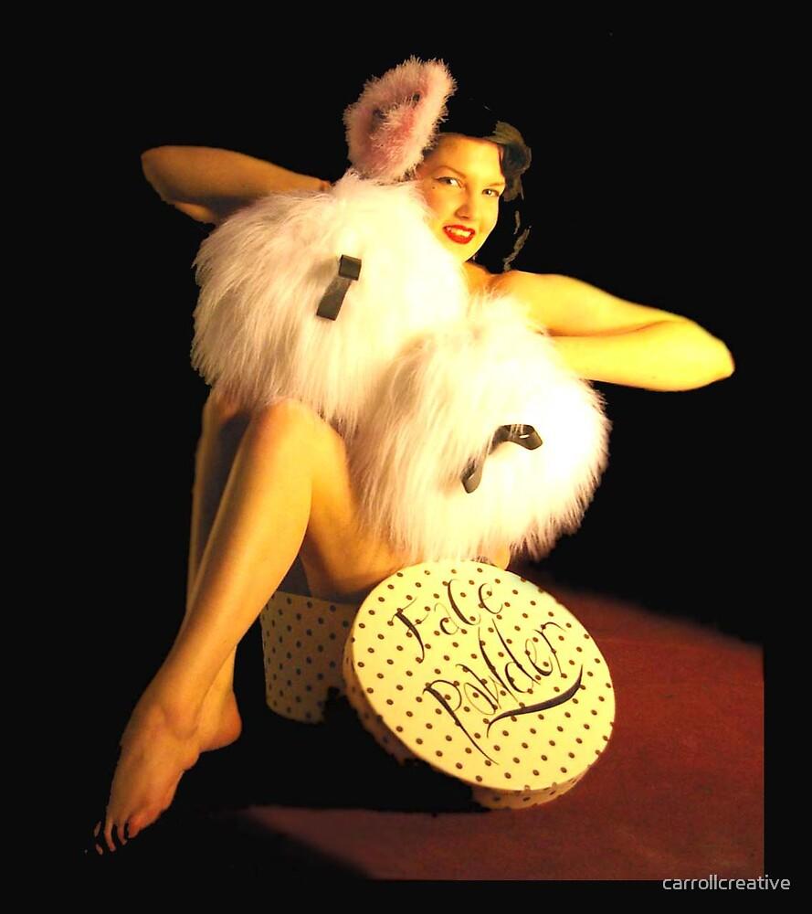 Burlesque Starlet  by carrollcreative