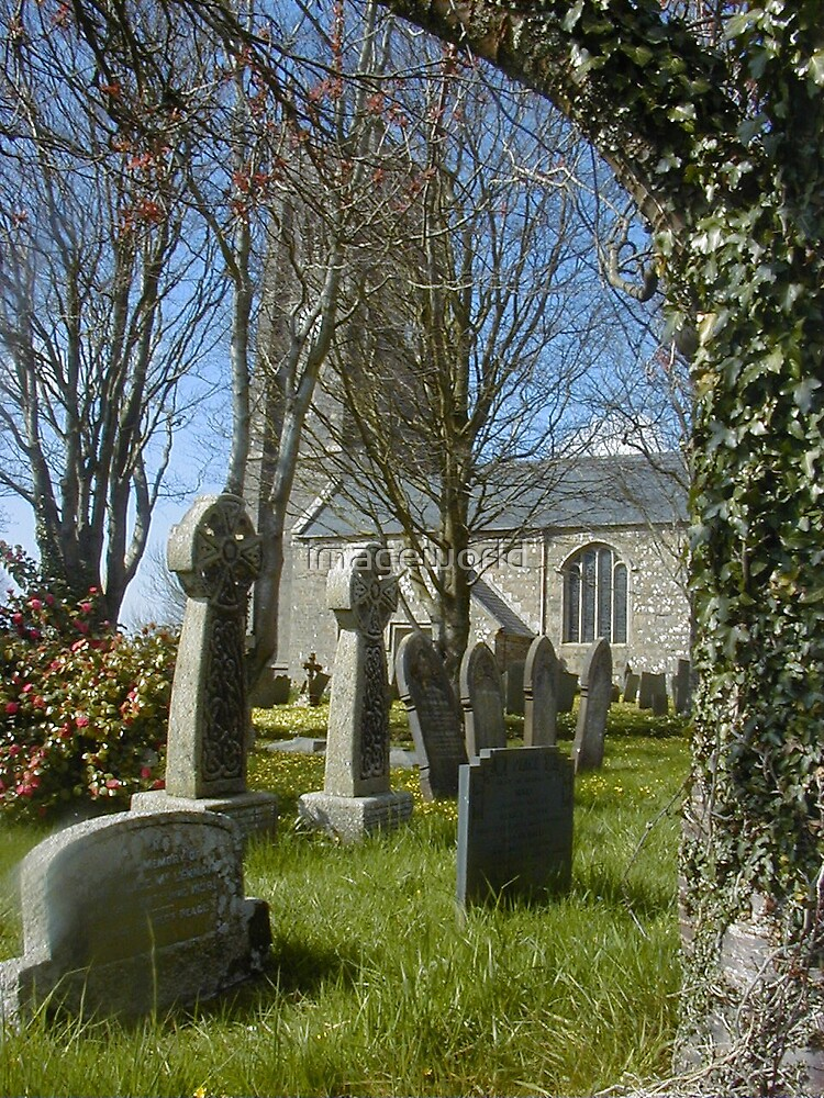 churchyard by imageworld