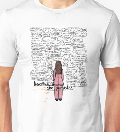 she persisted Unisex T-Shirt