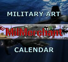 MilMerchants Military Art Calendar by Mil Merchant