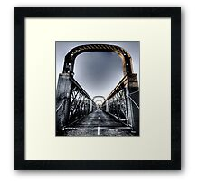 Como Bridge 2 Framed Print