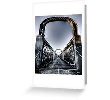 Como Bridge 2 Greeting Card