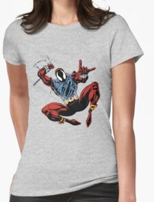 Spider-Man Unlimited - Ben Reilly the Scarlet Spider Womens Fitted T-Shirt