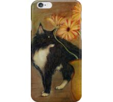 Jasper with daisies iPhone Case/Skin