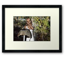 Daddy's Going to Heaven Now Framed Print