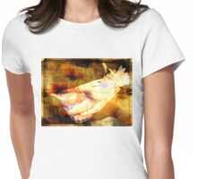 bird in the hand Womens Fitted T-Shirt