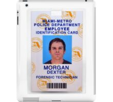 Morgan, Dexter iPad Case/Skin