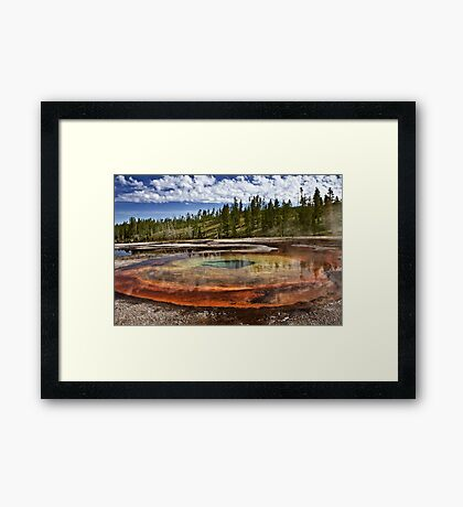 Chromatic Pool Framed Print