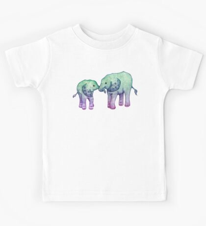 Baby Elephant Love Kids Tee