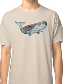 Whale in the Deep Classic T-Shirt