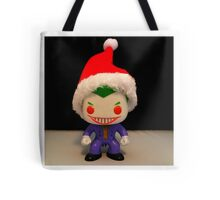 Santa Joker Tote Bag