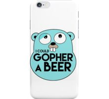 Gopher A Beer iPhone Case/Skin