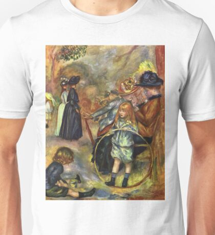 Auguste Renoir - At The Luxembourg Gardens, 1887 Unisex T-Shirt