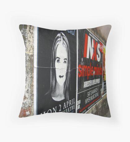garrard/inxs Throw Pillow