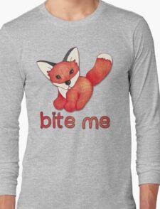 Fox Lattice Long Sleeve T-Shirt