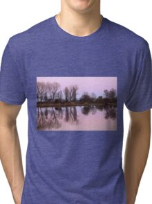 reflections on the lake Tri-blend T-Shirt
