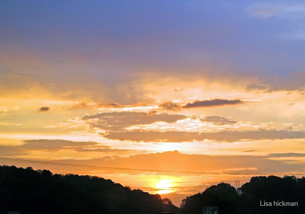 sunrise by Lisa hickman