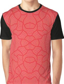 Pink rice fields Graphic T-Shirt