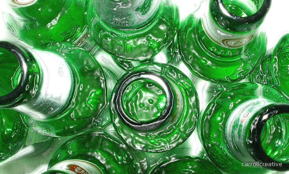 Ten Green Bottles by carrollcreative