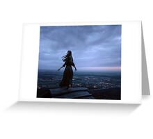 dance over the city Greeting Card