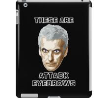 Doctor Who 12 Peter Capaldi - Attack Eyebrows iPad Case/Skin