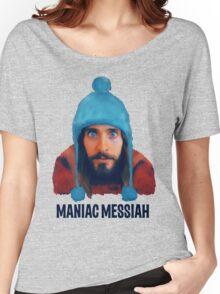 Maniac Messiah  Women's Relaxed Fit T-Shirt