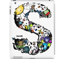 IMOK Letter S iPad Case/Skin