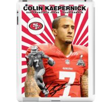Colin Kaepernick Baseball Card iPad Case/Skin