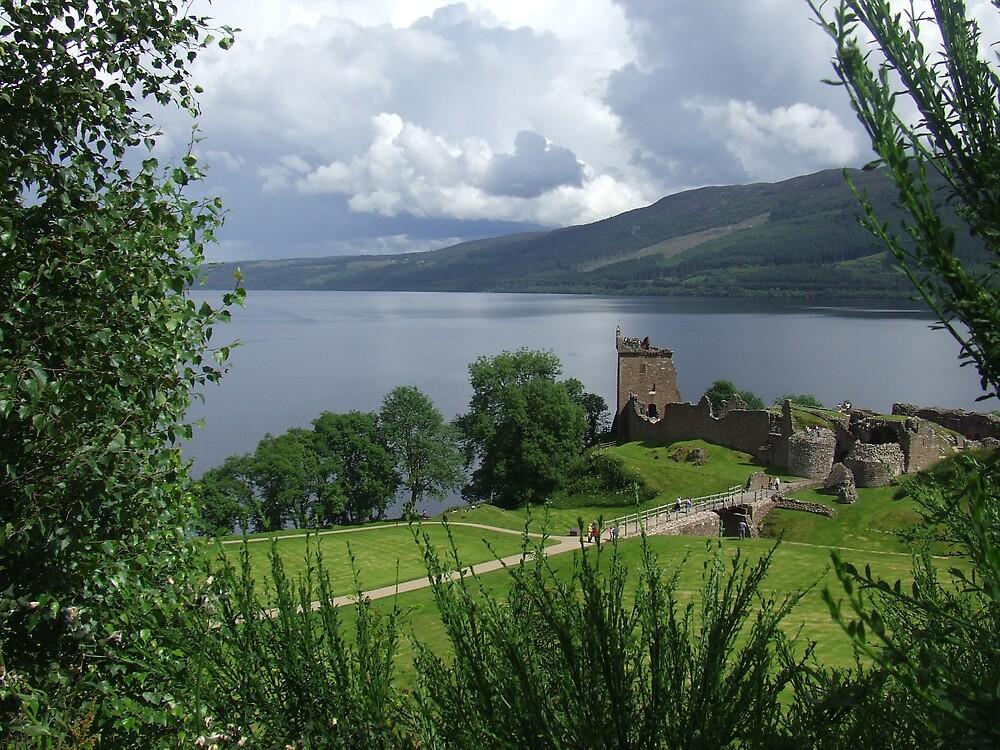 Loch Ness, Scotland by Samuel  Smith